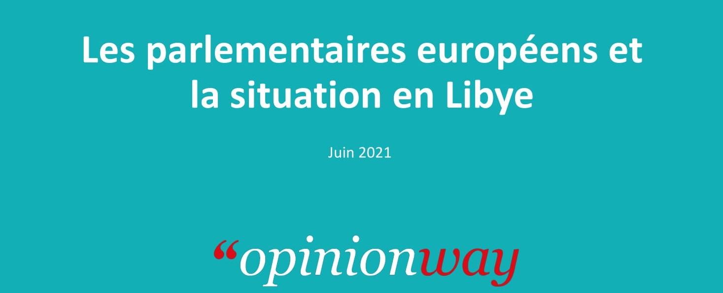 Les Parlementaires Européens et la situation en Libye
